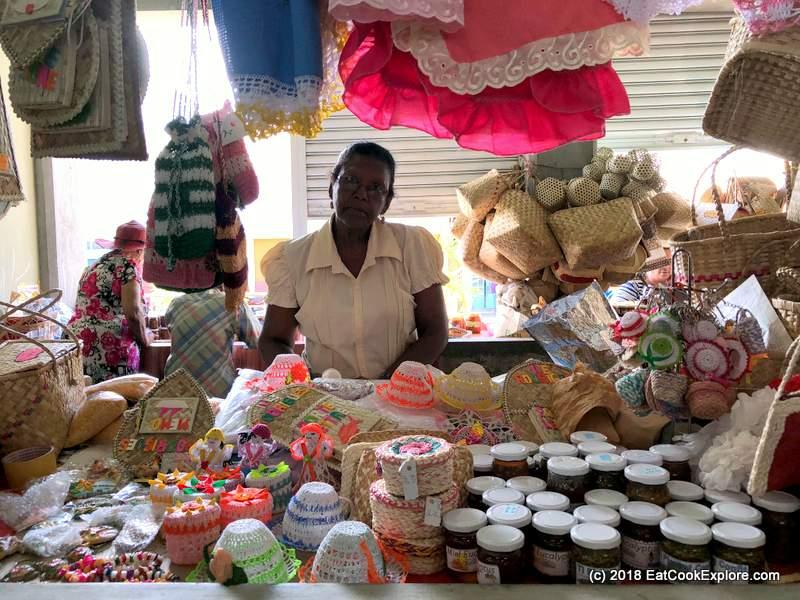 Local crafts, artisan jams and chutney at Port Marthurin Saturday Market