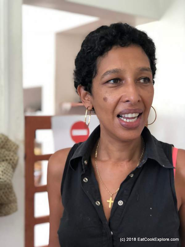 Rodrigues Island People -Valerie the Master Jam Maker of Rodrigues