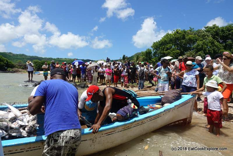 Fete du Poisson - Festival of Fish to mark the beginning of the Net Fishing Season