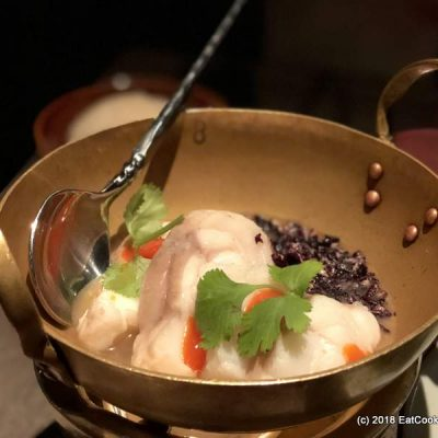 Chef's table with Chef Tam at Patara Soho