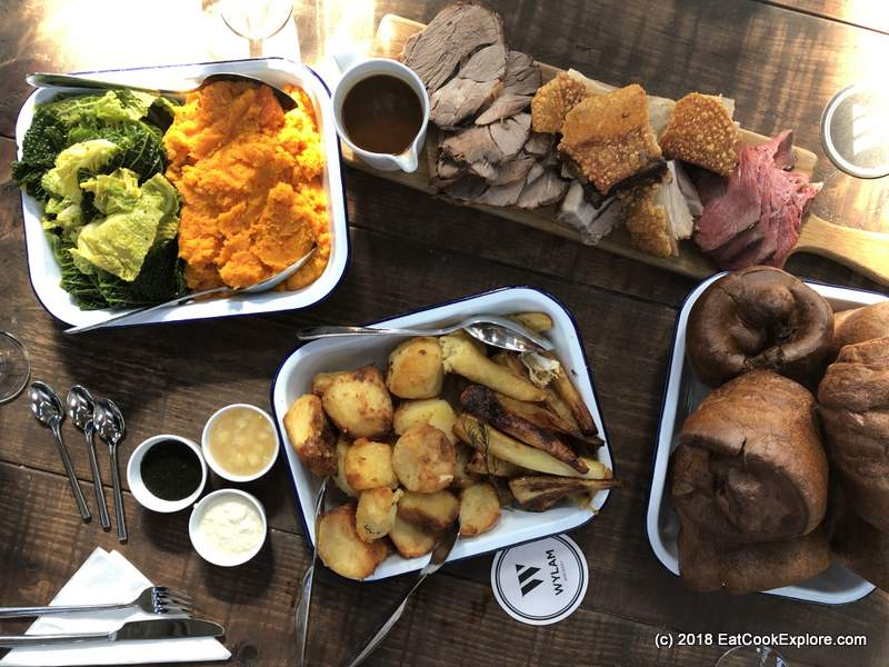 Sunday Lunch at Wylam Brewery
