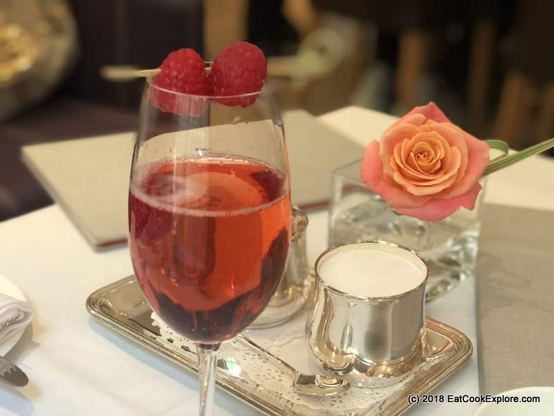 The Halkin Afternoon Tea Fernada Ascot Champagne Cocktail