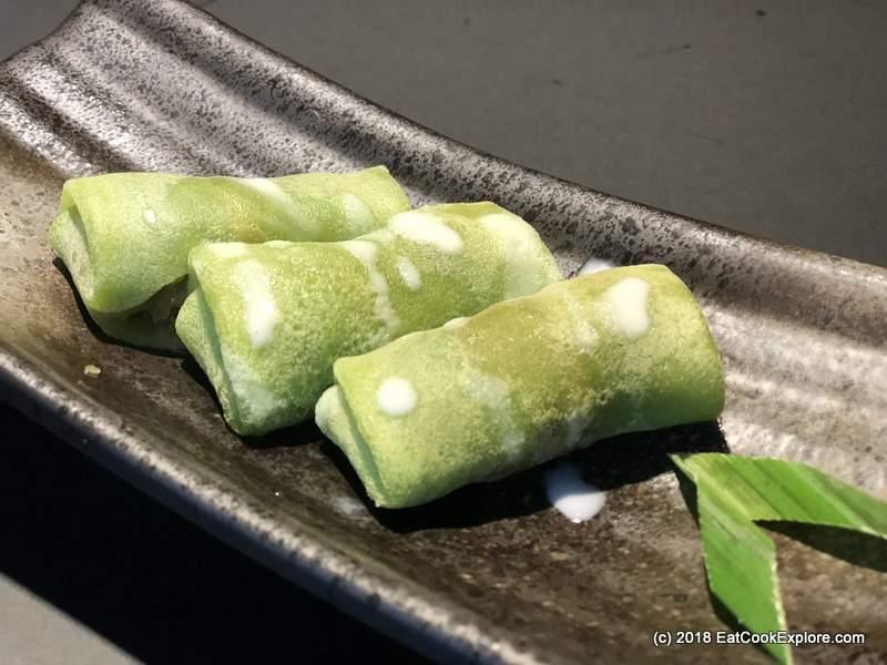 Zheng Chelsea Kuih Ketayap Pandan pancakes