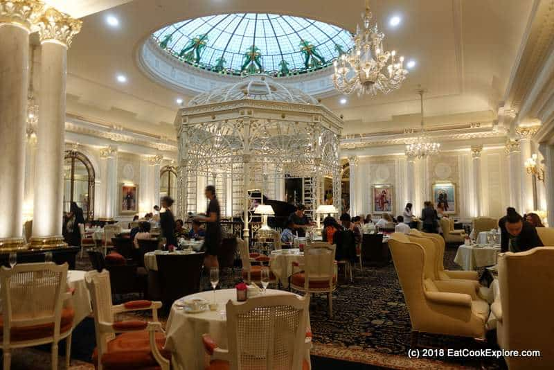 Best Traditional Afternoon Tea in London Thames Foyer Savoy Hotel