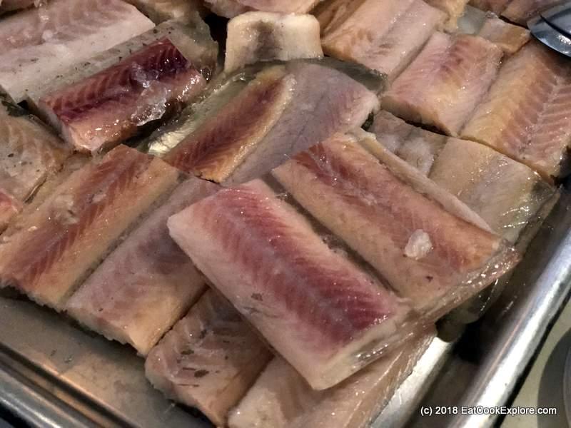 Elderflower jellied eel