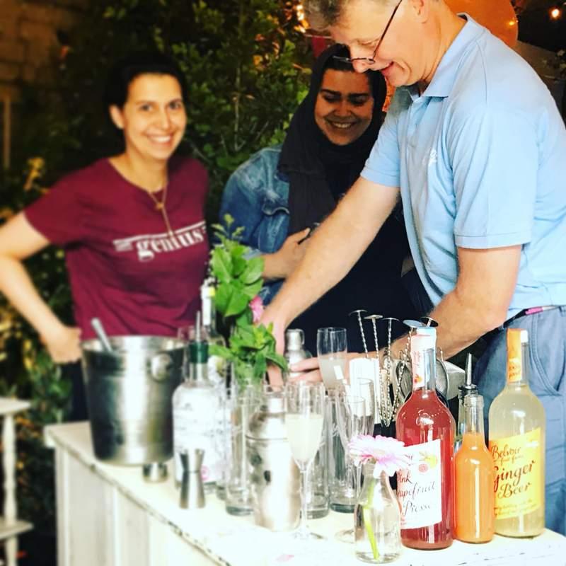 Belvoir cocktail making class