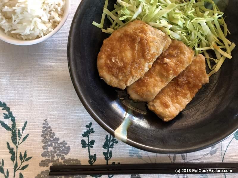 Japanese Ginger Pork shogayaki