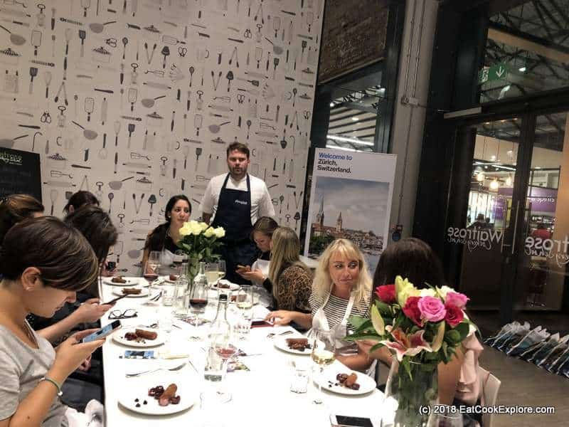 Visit Zurich with Josh Eggleton and Great Briitish Chefs