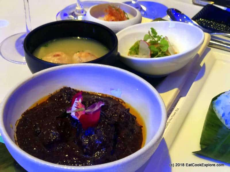 Candlenut Tok Panjang Peranakan feast Buah Keluak Beef Rendang
