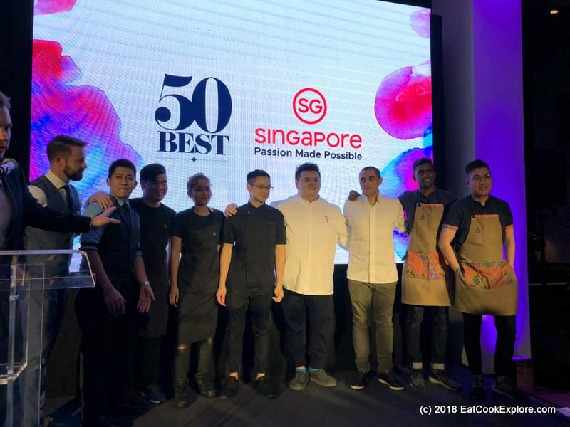 World's 50 best Singapore Tourism