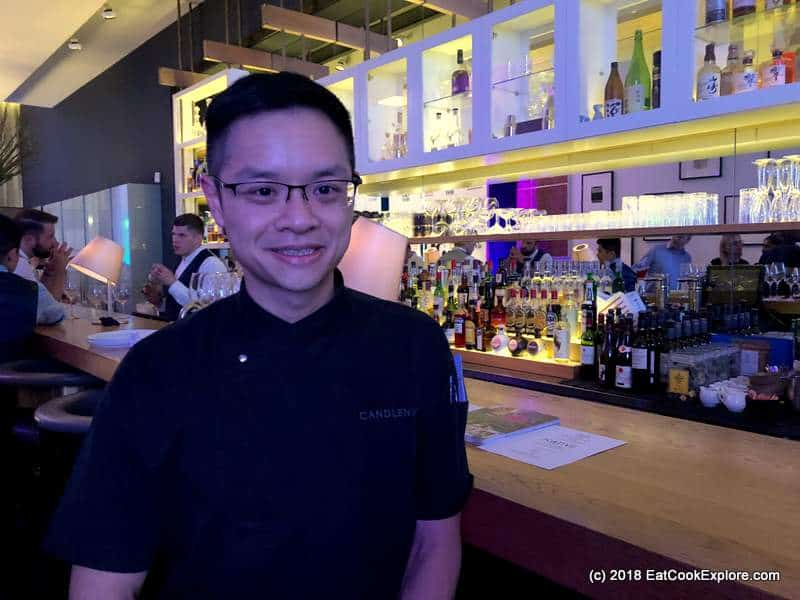 Chef Malcolm Lee of Singapore's Candlenut Restaurant at World's 50 Best in London