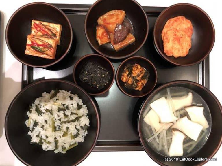 Korean Temple Food Balwoo gongyang