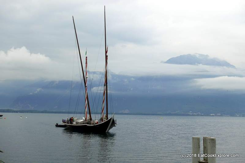 Montreux Sail on the Demoiselle Barque