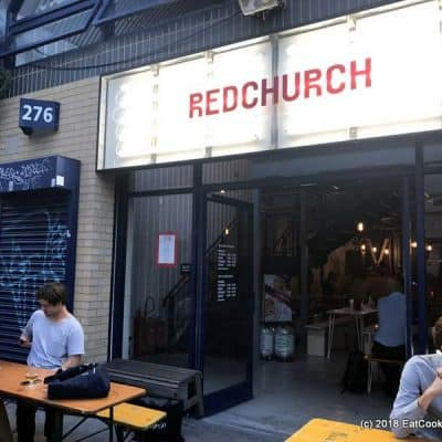 Hoppy craft beer heaven at Redchurch Brewery