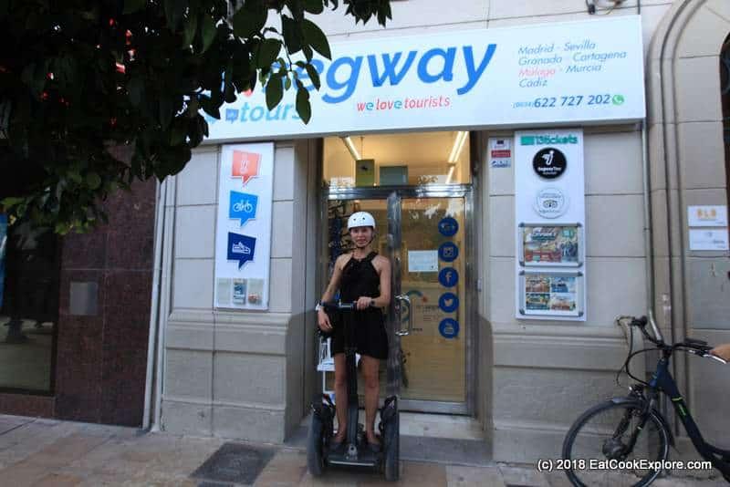 Explore Malaga by Segway