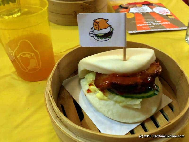 Shoryu pork bao