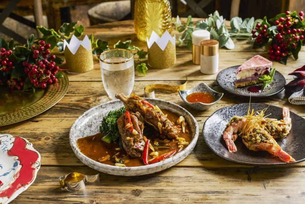 Giggling Squid Xmas Menu Lunch Open Christmas Day 2018