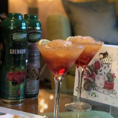 Teisseire Festive Passionfruit Mocktail