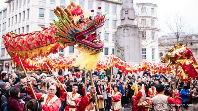 Dragon Parade Chinese New Year London