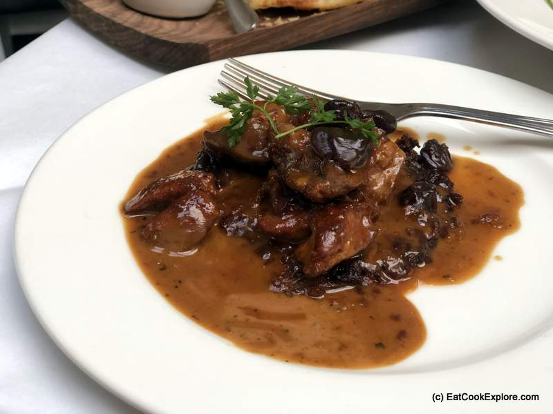 Baltic Southwark Sauteed Chicken Livers and Dried Cherries