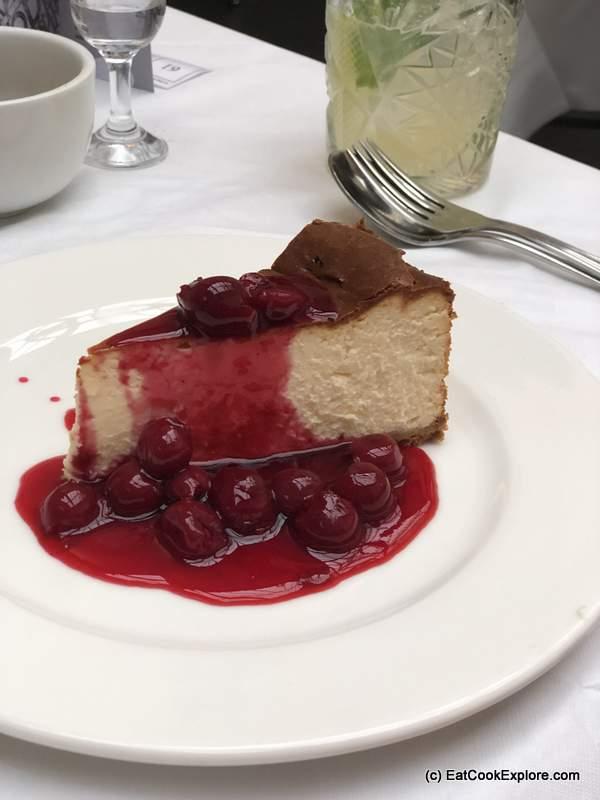 Baltic Southwark White Chocolate Cheesecake