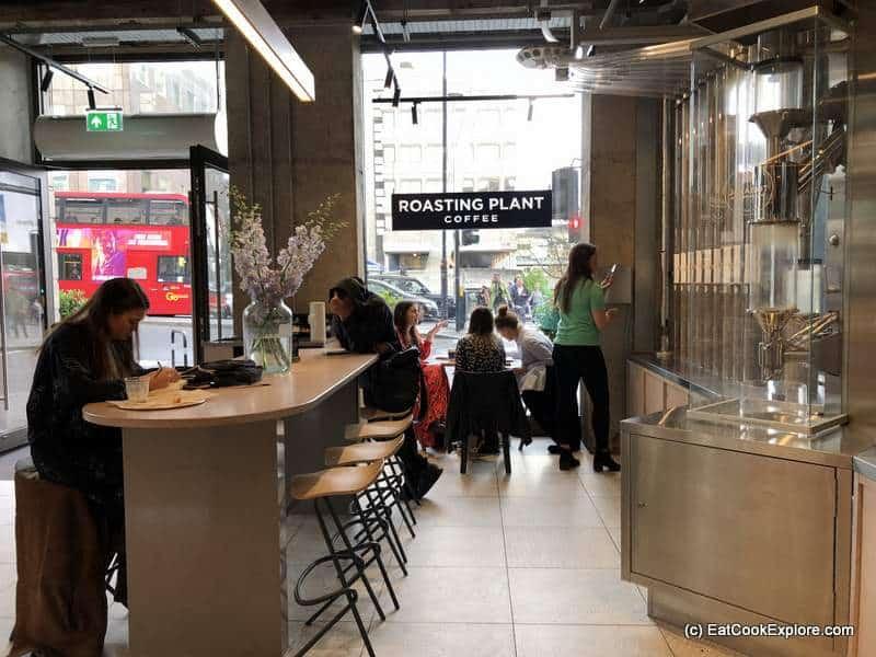 Roasting Plant Coffee Shop London Bridge