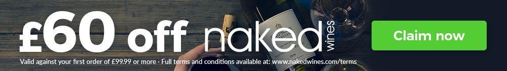 Naked Wines Special offer £60 off