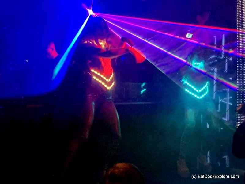 Opium London LED Show