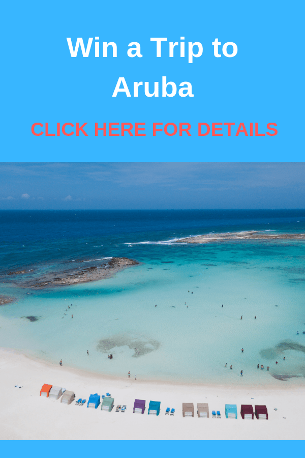 WIN A TRIP TO ARUBA