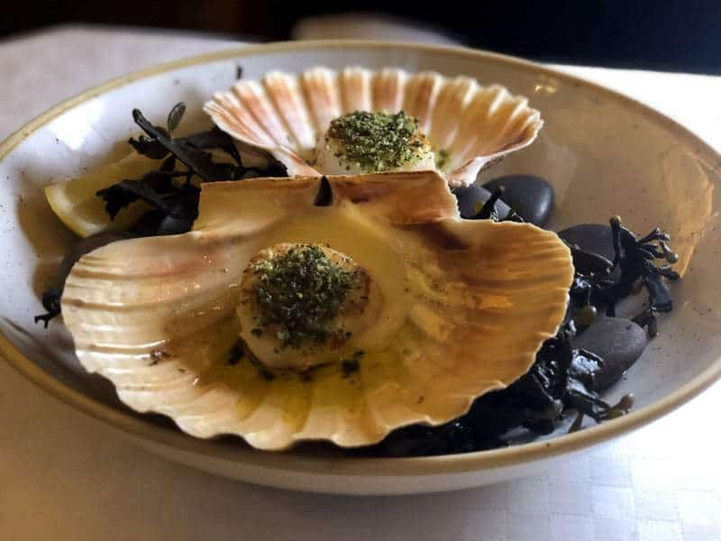 Simpsons on The Strand Orkney King Scallops