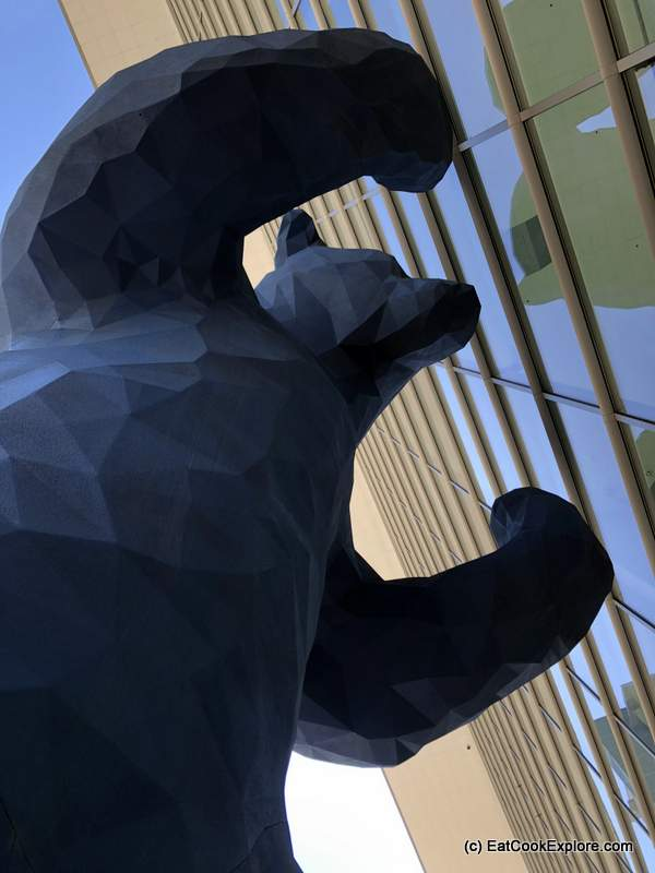 Blue Bear Denver By Lawrence Argent