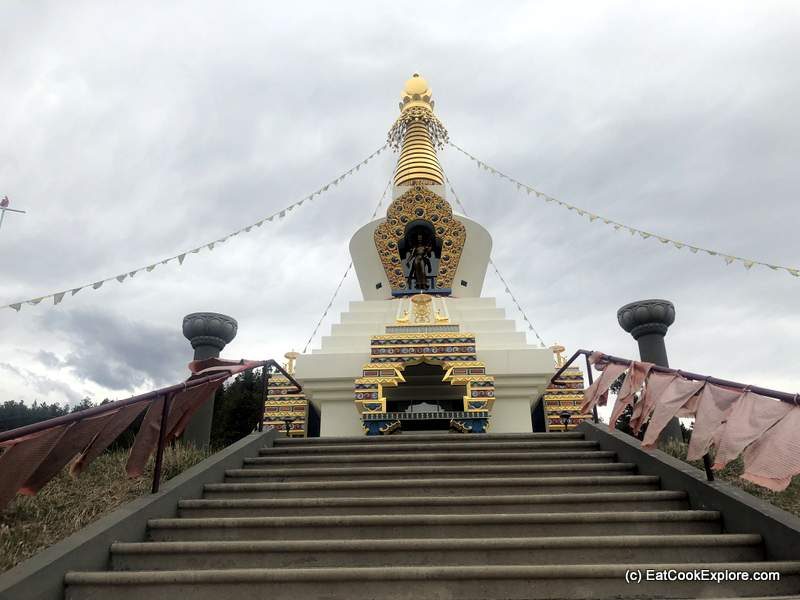 The Great Stupa Shambala Mountain Centre
