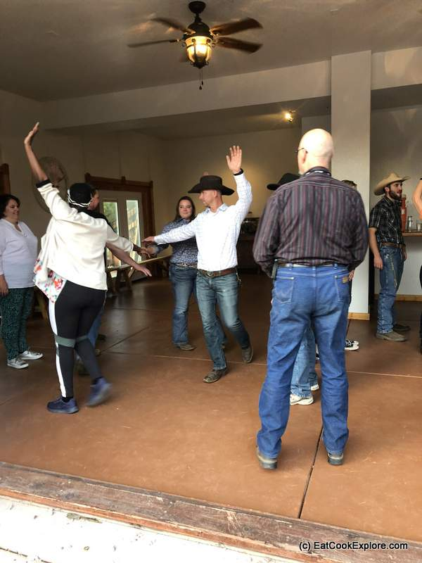 Square Dancing at Sundance Trail Dude Ranch