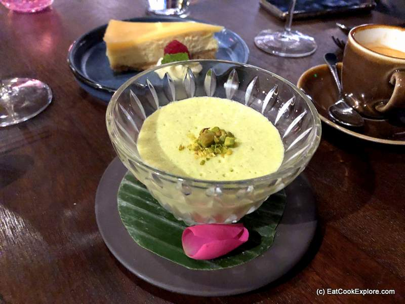 Phirni Pistachio rice pudding