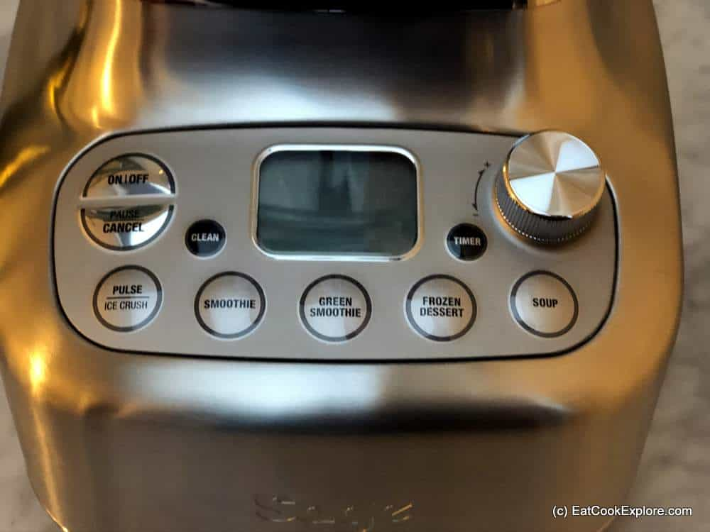 Review Sage Super Q Blender 5 preset programmes