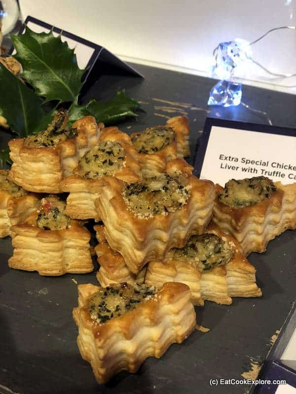 Asda Christas Tree Canapes