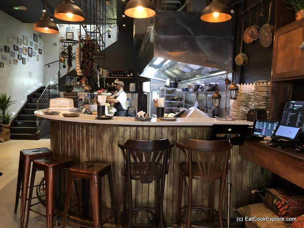 Melabes Israeli Restaurant High Street Kensington