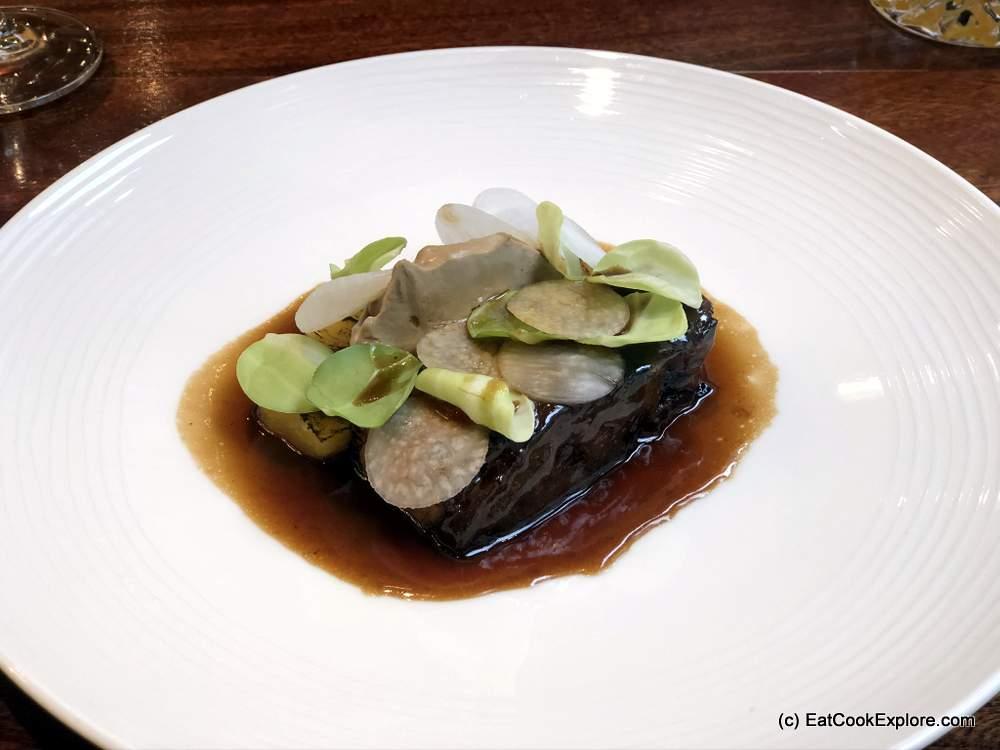 The Restaurant at the Capital Hotel Knightsbridge Pork Belly