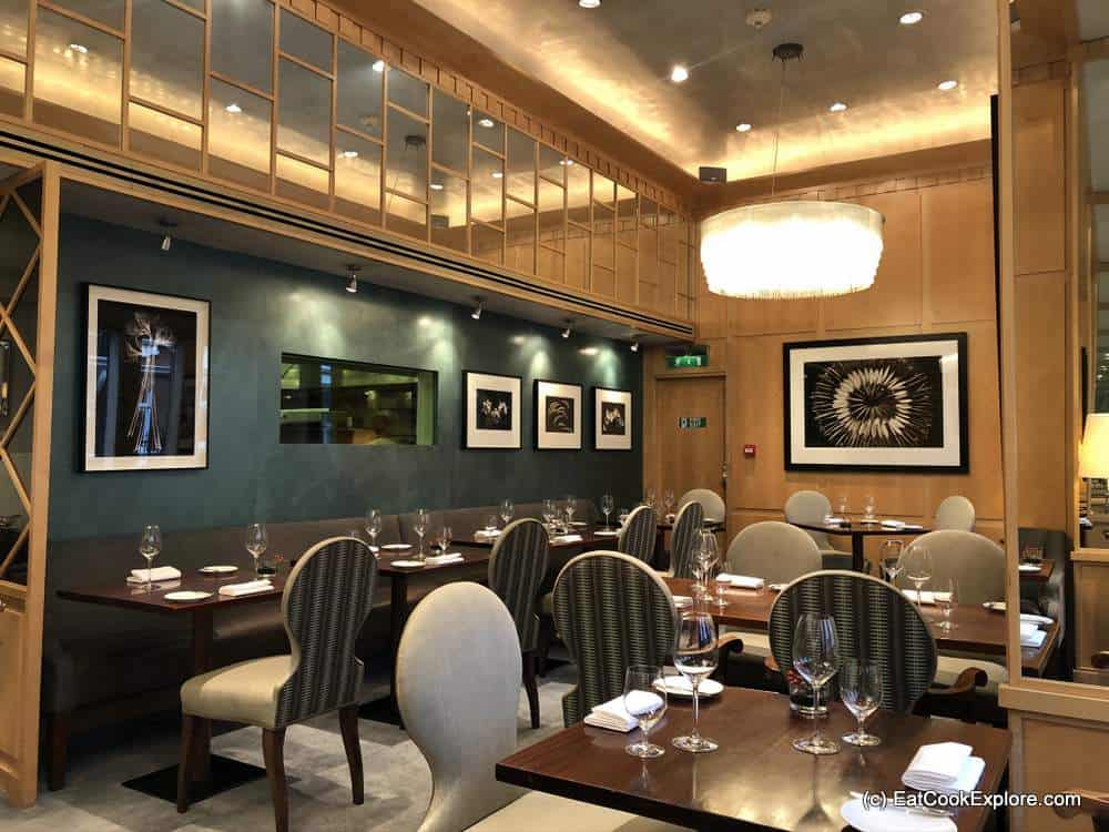 The Restaurant at the Capital Hotel Knightsbridge