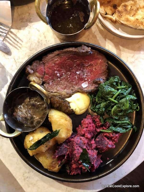 Sunday lunch at Kricket Brixton Roast Beef