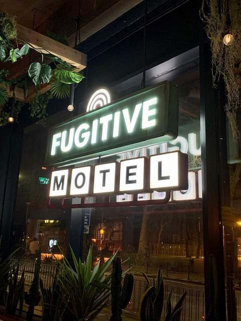 Fugitive Motel Non Alcoholic cocktails
